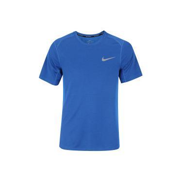 83e39cf3b5 Camiseta Nike Dry Miler Top - Masculina - AZUL CINZA CLA Nike