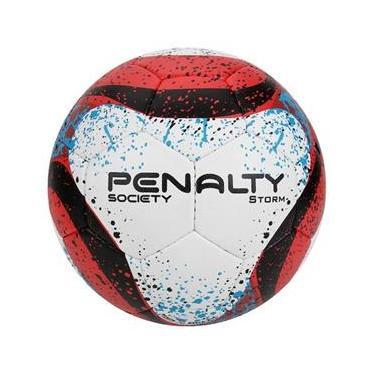 Bola Futebol Society Storm Costurada a Mão be08bda7d131e