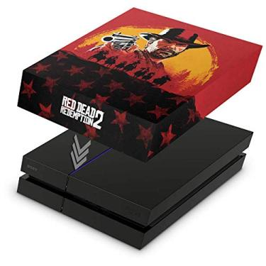 Capa Anti Poeira para PS4 Fat - Red Dead Redemption 2
