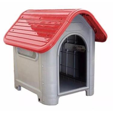Casinha de Cachorro Grande Mec Pet Vermelha