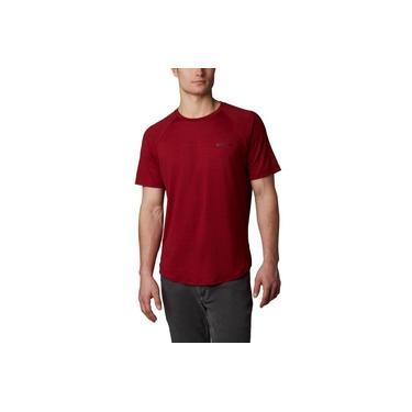 Camiseta Columbia Tech Trail II Crew - Vermelha