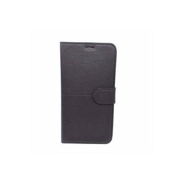 Capa Carteira Galaxy S7 Flat G930 Preto + Película Gel 5d