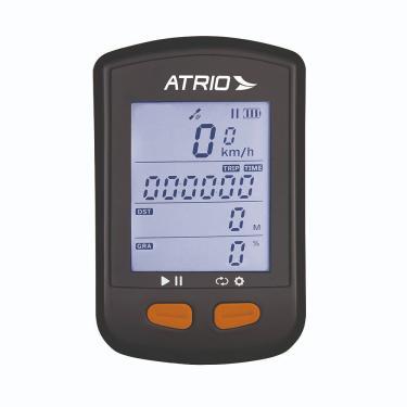Imagem de GPS Atrio Steel para Ciclismo Resistente à Água Recarregável Preto - BI132 BI132