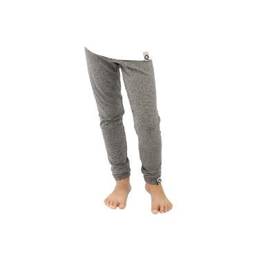 Calça Legging Infantil Menina Térmica Conforto Esporte Frio Cinza