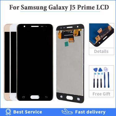 Original 5.0 lcd lcd lcd para samsung galaxy j5 prime display g570f g570 SM-G570F lcd substituição