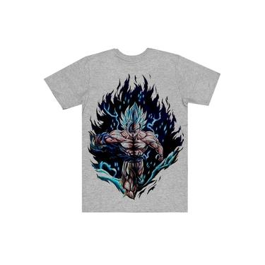 Camiseta Infantil Dragon Ball Goku Blue
