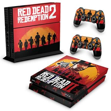 Skin Adesivo para PS4 Fat - Red Dead Redemption 2
