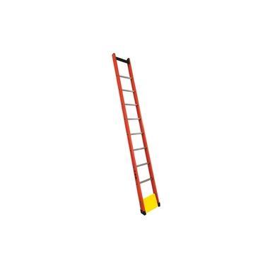 Escada Singela Vazada em Fibra 14 Degraus 4,5m
