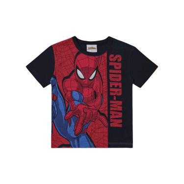 Camiseta Spider-Man, Preto, 2