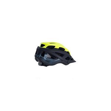 Imagem de Capacete Bike Asw Fun Amarelo Fluor com Iluminação