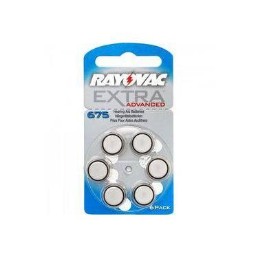 Pilha Auditiva 675 1,4v Extra Advanced Rayovac
