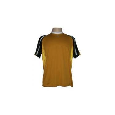 890927d2b8 Jogo de camisa Profissional com 14 unidades modelo Folk  Dourado Preto Branco Amarelo