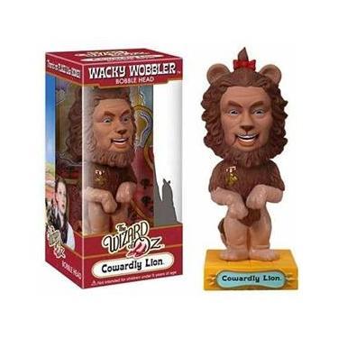 Imagem de Cowardly Lion ( Leão Covarde ) - The Wizard of Oz ( O Mágico de Oz ) - Funko Wacky Wobbler