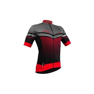 Camisa Ciclismo Refactor Hurricane Vermelha