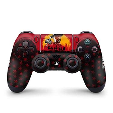 Skin Adesivo para PS4 Controle - Red Dead Redemption 2