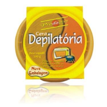 Cera Depilatória Natural Cera de Abelhas 190g