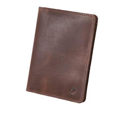 Carteira Masculina Slim Couro Legítimo Documentos, Cartão e Nota Couro50 Cuiabá (Terra)