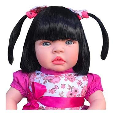 Imagem de Boneca tipo bebe reborn Morena