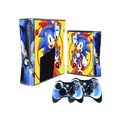 Skin Xbox 360 Slim Sonic