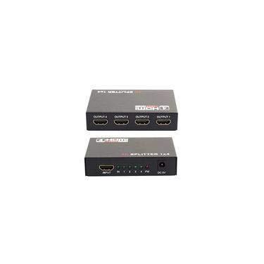 ADAPTADOR SPLITTER C/ 4 HDMI 1080P 3D LE-5557 LELONG