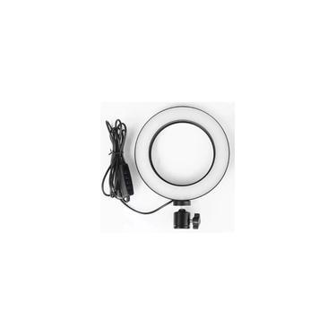 Ring Light 6 Polegadas Iluminador De Led Com Tripe Usb 16cm