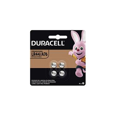 Bateria eletrônica litio LR44 - 1.5v 5007590 Duracell PT 4 UN