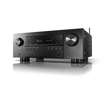Receiver Denon AVR-S960H (Modelo 2020) Dolby Atmos 7.2CH 90w 5.1.2 canais DTS: Suporte X Preto-120v