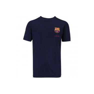 Camiseta Barcelona Fardamento Class - Infantil - Azul Esc Vinho Barcelona b0b1795766775