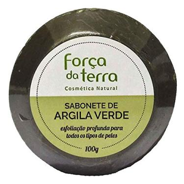 Sabonete de Argila Verde Força da Terra 100g