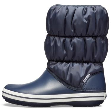 Bota Crocs Winter Puff Boot Women Azul  feminino