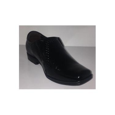 Sapato Infantil Masculino Pegada Preto - 3223