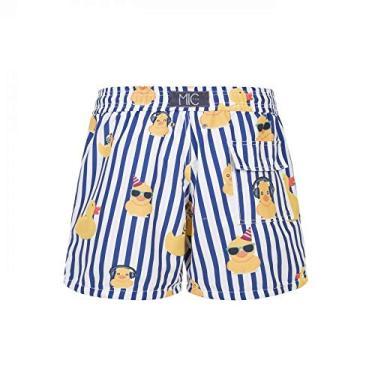 Shorts Praia Infantil What The Duck > de 9 a 10 anos