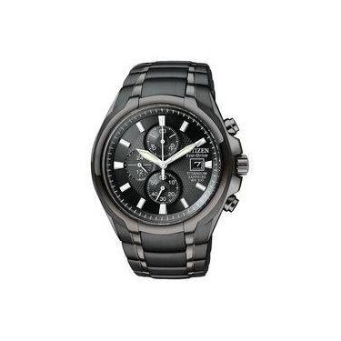 48845fa973e Relógio Citizen Eco Drive Titanium chronograph CA0265-59E
