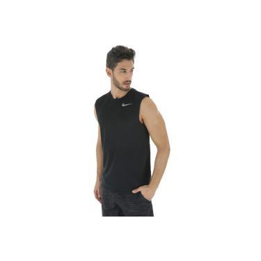 Camiseta Regata Nike Breathe Run SL - Masculina - PRETO Nike 055ed732fa4