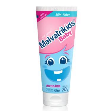 Gel Dental Malvatrikids Baby Sabor Tutti-Frutti 70g