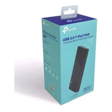 Hub Usb Tplink 3.0 Com 7 Portas - Com Fonte Externa - Uh700