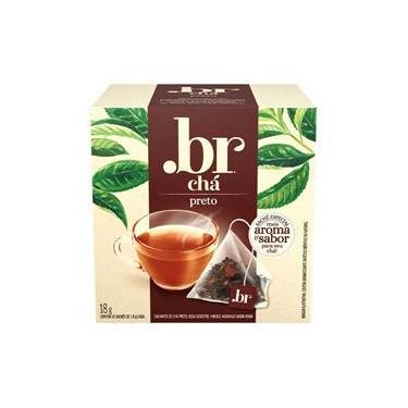 Chá .BR Preto 10 Sachês .BR