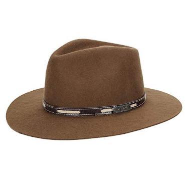 Chapéu de Feltro Social Marrom Texas Diamond 23035 - Marrom - 54 bfeafc3282b