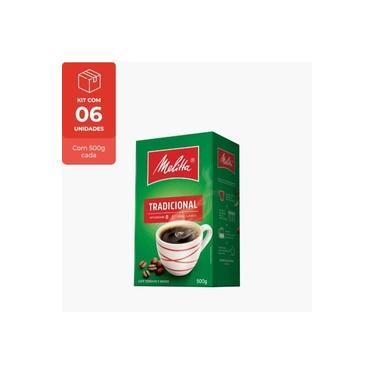 Kit Café Tradicional Melitta Vácuo 500g - 3 Unidades