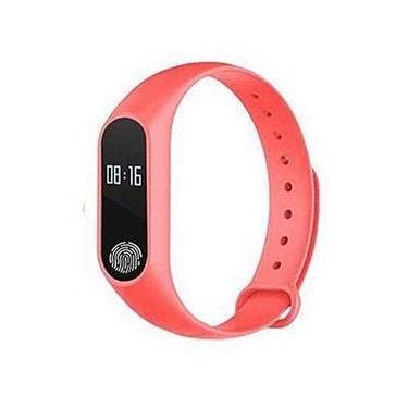 Imagem de Pulseira Inteligente Sport M2 Monitor Cardiaco Vermelho
