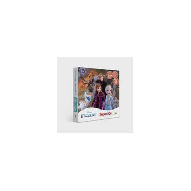 Imagem de Super Kit De Jogos - Frozen 2 - Quebra Cabeca, Jogo Da Memoria e Domino toyster