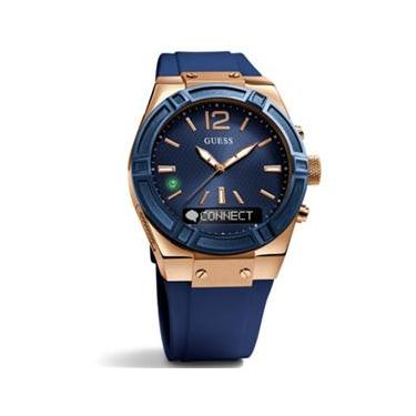206f6085037 Relógio Feminino Guess Guess Connect Smartwatch In Blue 45Mm