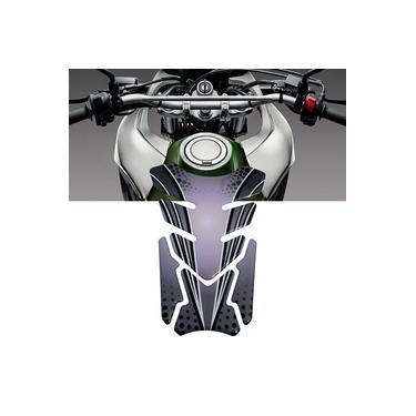 Adesivo Protetor De Tanque Tank Pad para Moto Universal Cinza BMW