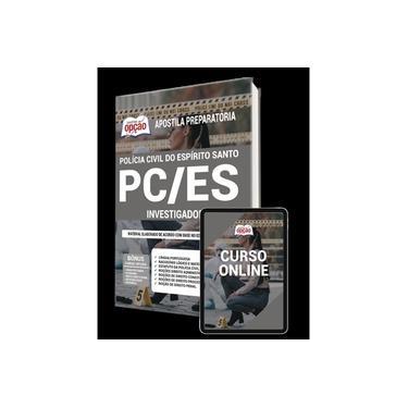Imagem de Apostila PC-ES 2021 - Investigador