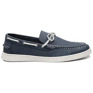 Sapato Casual Reserva Monaco Masculino, Azul Jeans, 40