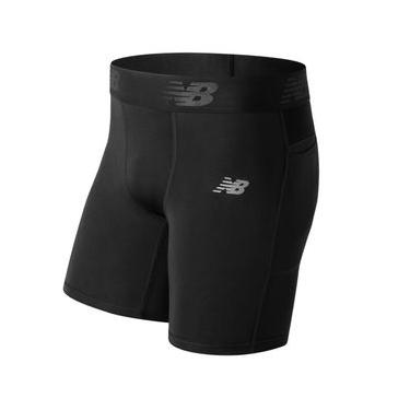 Shorts New Balance Aeronamic Masculina Preta - P