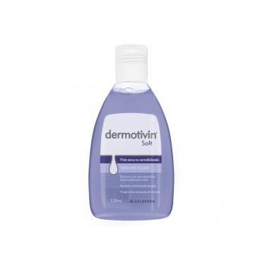 Dermotivin Soft Sab Líquido Facial Pele Seca Sensível 120mL