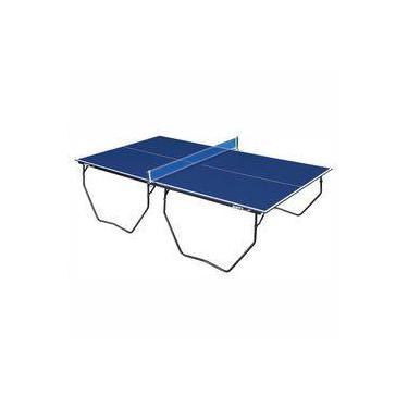 79f3717e7 Mesa de Tênis de Mesa   Ping Pong Klopf 1009 com Rodízios MDF 15mm