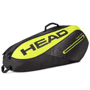 e4caec0ce Raqueteira Head Tour Team Extreme 6R Combi Preta e Verde Limão