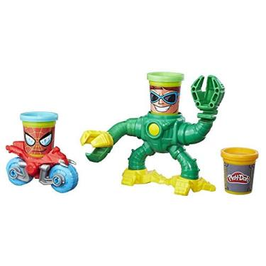 Imagem de Conjunto Massinha Play-doh Marvel Spiderman Vs Doc Ock Play-doh Multicor